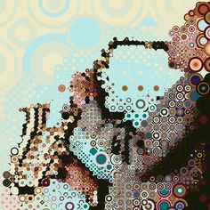 Dancing with circles by Charis Tsevis, via Behance