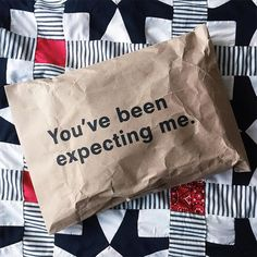 "Résultat de recherche d'images pour ""you've been expecting me packaging"""