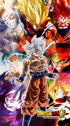 Goku todas sus transformaciones