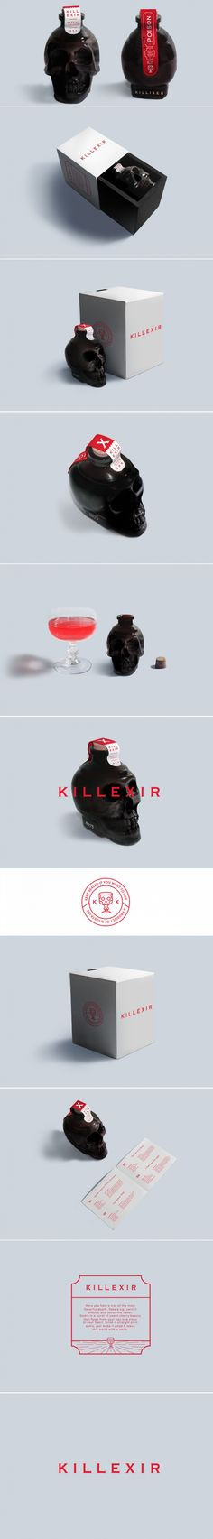 Concept: Killexir — The Dieline - Branding & Packaging Design.