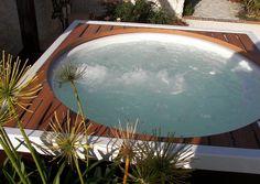Versteckter Garten-Whirlpool