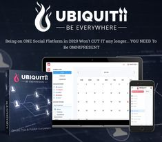 Ubiquitii App Review + OTO 1, OTO 2, OTO 3 - by Kimberly Hash De Vries - Brand New SaaS Social Platform In 2020 With Pro Commercial License That'Ll Help You To Post On Facebook Pages, Facebook Groups, Instagram, Linkedin, Twitter, Pinterest, And Youtube With Unlimited Accounts And Grow Organic Leads Without The Need To Advertise Social Media Training, Power Of Social Media, Social Media Services, Social Media Content, Social Media Marketing, Media Communication, Grow Organic, Community Building, Competitor Analysis
