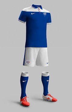 Iceland Kit and Logo Redesign by Matthew Wolff - Footy Headlines