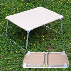 Amazon.com: [Super Large] Avantree Foldable Bed Table for Laptop, Wooden Breakfast Tray & Standing Desk, Portable Floor Table for Outdoor Camping & Picnic: Office Products