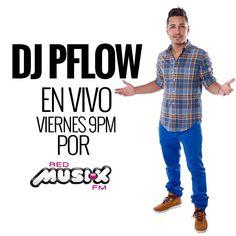 Hoy viernes desde las 9PM escúchame en @redmusikfm @rumberacuracao www.redmusikfm.com - #DJPflow #EnLaMezcla #RedMusikFM #SuperTrendy #DJ DJLife #Caracas #Venezuela #Curazao
