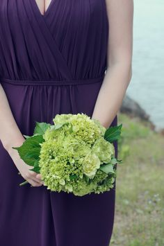 Green baby hydrangeas: http://www.stylemepretty.com/2015/04/21/20-green-bouquets-for-earth-day/