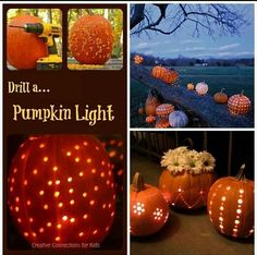 Pumpkin lights great for a Halloween autumn wedding Halloween Pumpkins, Halloween Crafts, Halloween Decorations, Halloween Party, Halloween Stuff, Halloween 2013, Fall Pumpkins, Halloween Tricks, Samhain Decorations