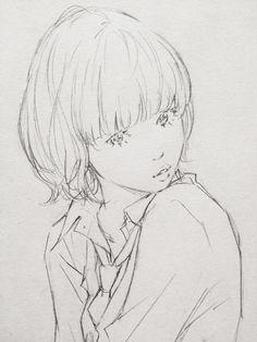 なかなか手が温まらないのでラクガキをサラサラッ by Eisakusaku