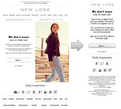 Responsive Email Design from New Look