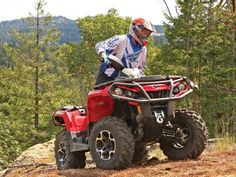 ATV of the Year  The 2012 Can-Am Outlander Max 650  Written By: Staff. ATV Illustrated Magazine .If we could only pick one machine for everything from weekend trail rides to work around the yard or farm, it would be the Can-Am Outlander MAX 650. It's off-road perfection on four wheels. What makes the Outlander 650 Max special is that it does so many things so well.
