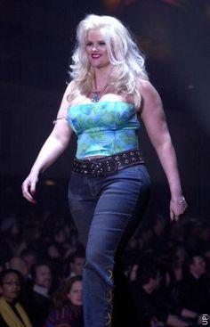 I Luvvvved Her Chubby Luscious Anna Nicole Smith Plus Size Jeans Jaguar