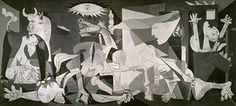 """""""Герника није конвенционална историја слика ... али Цубист апокалипса насликао најреволуционарнијој савремених уметника '"""