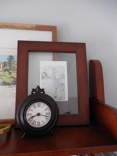 Amber B Interiors, family room, shelf styling, family heirlooms, displaying family heirlooms, Ture Value pin it to win it challenge
