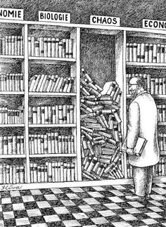 Chaos in books