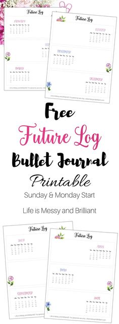 future log bullet journal year at glance bullet journal printables bullet journal weekly spread bullet journal trackers Bullet Journal Contents, How To Bullet Journal, Bullet Journal For Beginners, Bullet Journal Tracker, Bullet Journal Printables, Journal Template, Bullet Journal Junkies, Bullet Journal Layout, Bullet Journal Inspiration