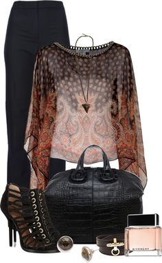 """Givenchy"" by fashion-766 on Polyvore"