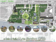 AIA Detroit by Design Competition: Hart Park