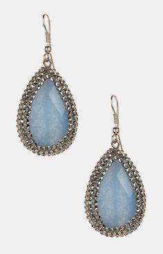 Betty Blue Drop Earrings