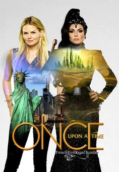 Once Upon A Time S3 | Emma & Regina by frenchevilregal on Tumblr. Love this!