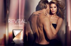 Calvin Klein has released images of their new fragrance campaign, REVEAL Calvin Klein, with Doutzen Kroes and Charlie Hunnam getting nice and cozy for the