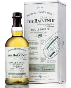 THE BALVENIE 25 YEAR OLD SINGLE BARREL SCOTCH WHISKY (750 ML)