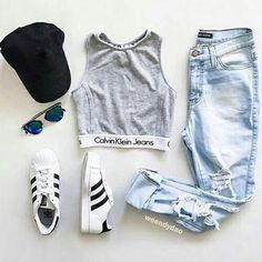 รูปภาพ adidas, fashion, and Calvin Klein