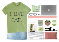 """#3 // I Love Cats!"" by needyavocado ❤ liked on Polyvore featuring Marc by Marc Jacobs, Muuto, Davines, Pelle, ASOS, L.G.R and Maison Margiela"