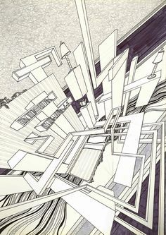 Perspective Inspiration on Pinterest | One Point Perspective ...