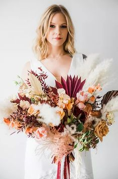 Bohemian Wedding Inspiration, Bohemian Wedding Dresses, Floral Wedding, Winter Wedding Flowers, Wedding Day, Chic Wedding, Luxury Wedding, Fit And Flare Wedding Dress, Custom Wedding Dress