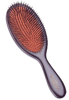 Best for Fine or Thin Hair    To be extra kind to delicate hair, look for a brush with especially soft natural bristles set in a rubber cushion, which makes bristles more flexible in the hair and gentler on the scalp. (Sensitive Pure Bristle Hair Brush, $143, Joy Beauty)        Via http://www.divinecaroline.com/22260/110286-eight-great-hairbrushes-which-you#ixzz2Gpaoi6KY