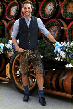 Michael Ballack, Lederhosen, Gq, Must Haves, Mode Style, Dress, Outfits, Fashion, Brown Leather Pants