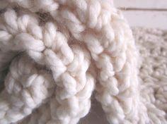 Chunky #crochet baby blankets from Peanut Tree