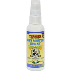 Thayers Dry Mouth Spray Peppermint - 4 Fl Oz