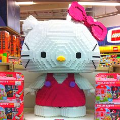 ✯Hello Kitty Lego style!