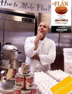 MyFlan Recipe Book   Available at Amazon.com. Get Yours Today! #flan #myflan #pudim #postre #flanes #dessert #caramelcustard #eggtart #custard #sweet  #michelinstar #masterchef #chef #foodporn #amazon #flanbook #recipe #love #flandelugo #book #milk #eggs #sugar #zagat #foodie #nyc #cali #french #ratemyflan #awesome #delish #bake #today Flan Dessert, Egg Tart, Custard, Cali, Delish, Caramel, Food Porn, Eggs, Nyc