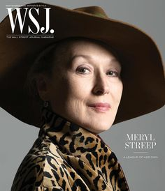 """ WSJ Magazine September 2016 Meryl Streep by Brigitte Lacombe """