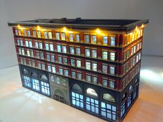 Z Scale Custom Made Building  Legal / Government by CustomZScales