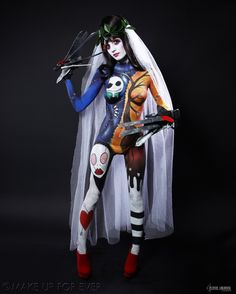 Body Painting Academy Final 2011/12 by Alexia L