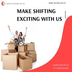 Shifting to a new place is considered to be one of the most tedious tasks. The major reason behind it is that shifting involves a number of strenuous tasks such as and But we are here to make your exciting. House Movers, Freight Forwarder, Relocation Services, Transportation Services, Packing, Ocean, Number, India, How To Make