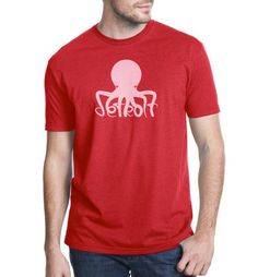 Got this the other day...LOVE IT! Detroit Red Wings Octopus TShirt by TheShayskiShop on Etsy, $25.00