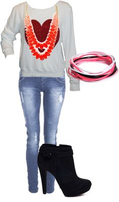 """sair com o Lu"" by iaradeodato on Polyvore"