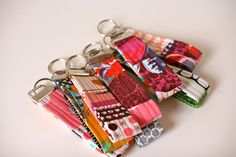 key fobs by One ShaBby ChiCk, via Flickr