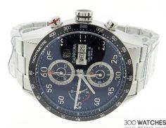 Tag Heuer Carrera CV2A10.BA0796 Stainless Steel Chronograph Watch