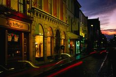 Oliver Plunkett Street in Cork, the street is named after Oliver Plunkett who was ordained in 1654, became archbishop of Armagh and primate of all Ireland in 1670, he was hanged by the British in 1681