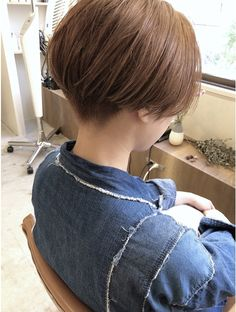 Asian Pixie Cut, Asian Short Hair, Asian Hair, Short Hair Cuts, Pixie Cut Color, Cut And Color, Tomboy Hairstyles, Short Bob Hairstyles, Short Brown Bob