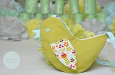 Vogeltasche / Kindertasche / Handtasche von Petit Sourire auf DaWanda.com