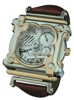 Jacob & Co.'s new ultra high-end, non diamond-studded watch for 2011 is this Cyclone Tourbillon