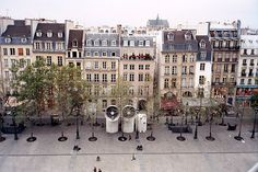 Paris Townhouses (seen from Centre Pompidou)