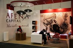 "Afena Capital exhibition stand | IRF 2012 by XZIBIT`S ""EYE LOVE CANDY"" PORTFOLIO, via Flickr"