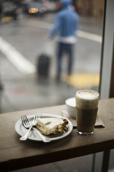 """""""Pie and coffee is approximately the third best social interaction a man can hope to have with a woman."""" ~ author unknown"""